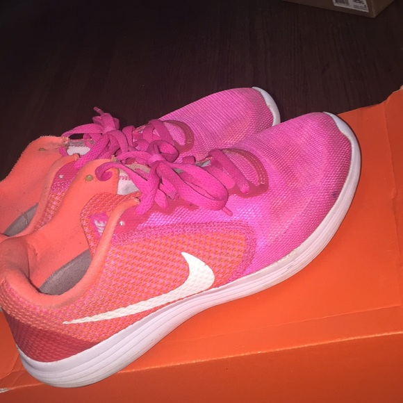 Nike Shoes | Nike Revolution 3 Pink And
